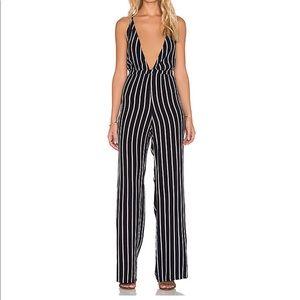Faithfull The Brand Striped Jumpsuit